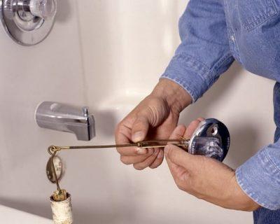 Déboucheur débouche un robinet