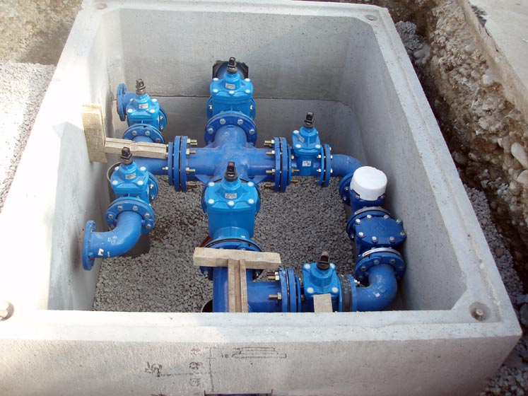 canalisations eau pose