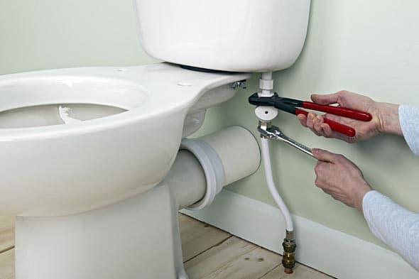réparation robinet WC