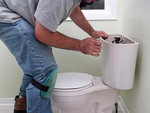reparation toilette