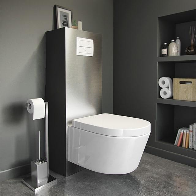 débouchage de wc suspendu pour des toilettes propres