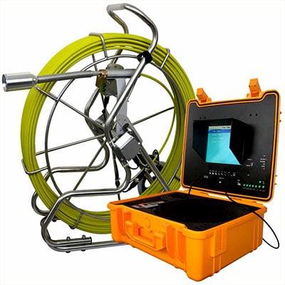 Caméra vidéo pour inspection canalisation bouchée