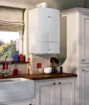 Installation chauffe eau dans la cuisine